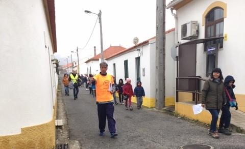 CONSTÂNCIA | Começou a iniciativa a pé para a escola | EOL - EntroncamentoOnline